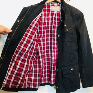 Banana Republic Jacket with Plaid Inner Lining